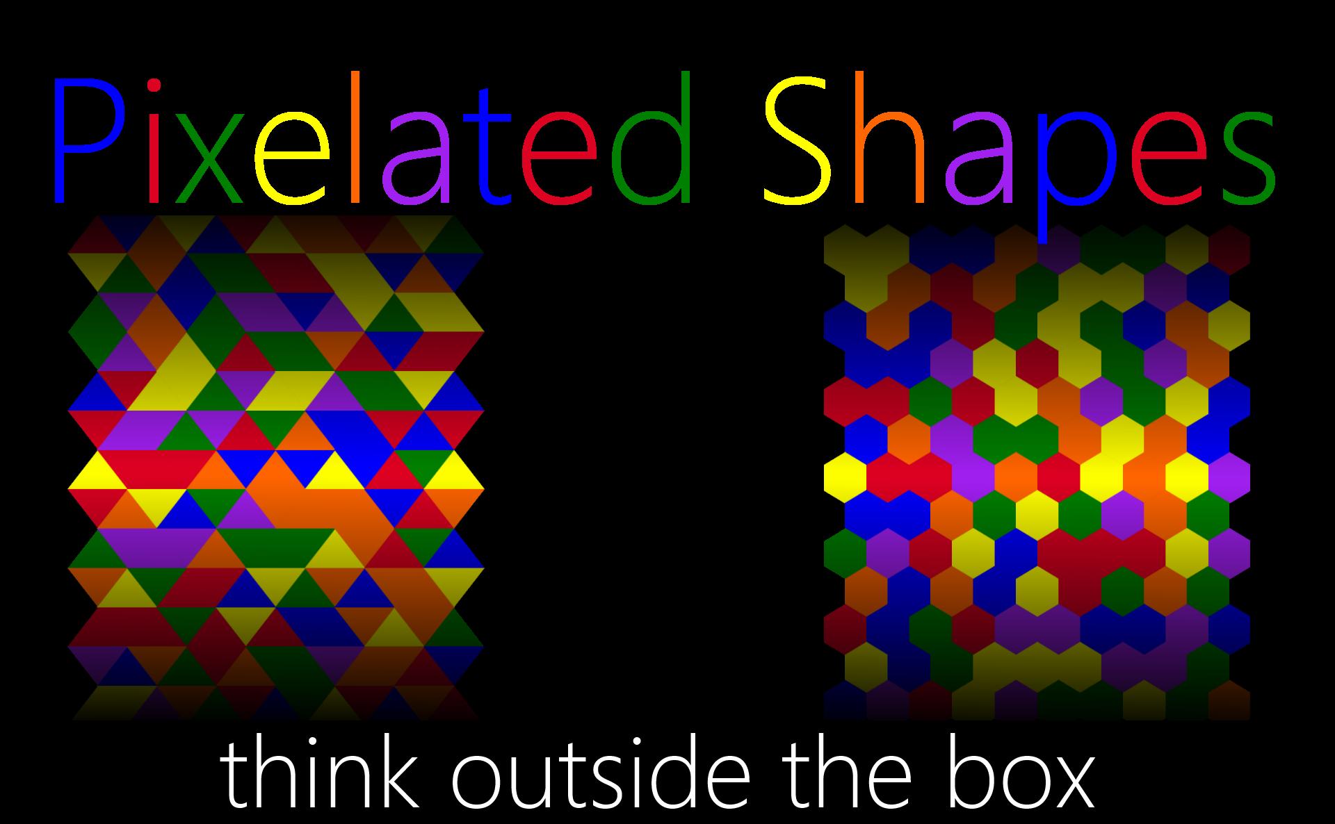 PixelatedShapes
